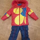 Зимний костюм комбинезон