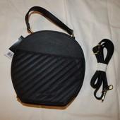 Черная круглая сумочка клатч Esmara .Германия. Много лотов Собирай!