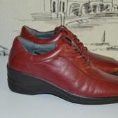 Анатомічні туфлі з натуральної шкіри 35 розмір