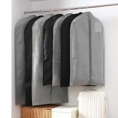 Тканевый качественный чехол для одежды 60*90 см