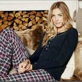 esmara.хлопковый пижамный регланчик с карманом XS32/34+6