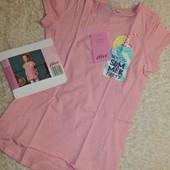 стильная удлиненная футболка на девочку от Alive.