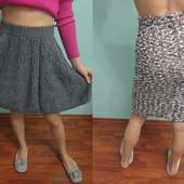 Две юбки одним лотом тм Benetton и др.размер S (26),XS, смотрите замеры, состояние идеальное.