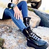 Стильные ботинки -Зима**