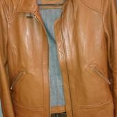 Кожаная куртка Massimo Dutti