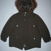 Демисезонная куртка-парка George р. 86-92 на 18-24 мес