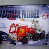 Дорогой !!!Конструктор металлический машина кран 816B-24 , 169 деталей