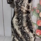 Вау! Обалденное платьице размер 44 секонд люкс с биркой