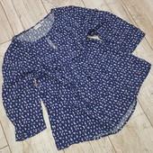 Нежная блуза из вискозы от Blue Motion 44/46
