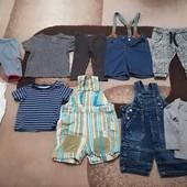 Комбинезон, футболка, штаны на выбор, размер 62-68