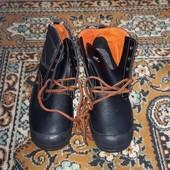 Рабочие ботинки демисезон, стелька войлок!