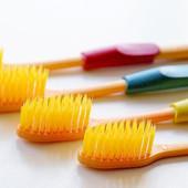 Бамбуковая зубная щетка Нано-Голд, 4шт/упак.
