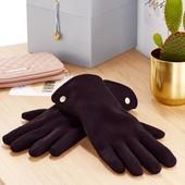 ☘ Теплі рукавички з флісу від Tchibo (Німеччина), розмір 7