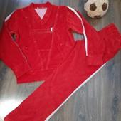 спортивный костюм красный ,размер М