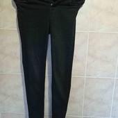 джинсы скини высокая посадка рр хс ,темно серые почти черные