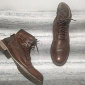 Демисезонные мужские ботинки из натуральной кожи Jacke Jones 41 размер