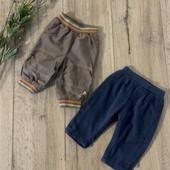 Штаны для мальчика 0-3 месяца( в лоте 2шт.). В отличном состоянии.