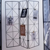 Мудборд, доска для заметок в виде шторок, металл Германия