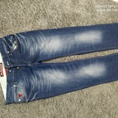 Люкс! стильные мужские джинсы р. 48/50