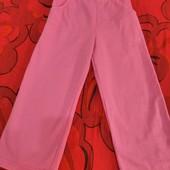 розовые брючки, размер 110 см. Финляндия, 100% коттон.