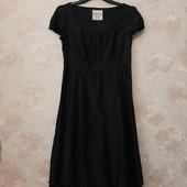 Красивое чёрное платье , шёлк\хлопок ! УП скидка 10%