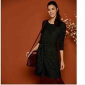 esmara.шикарное мягусенькое теплое платье L44/46+6 большемерит