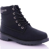Зимние мужские термо ботинки в стиле Тимбеленд,молния+шнуровка.45-28.5см.