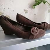 Туфли замш новые. Bh