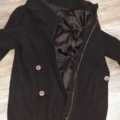 Пальто на змейке 52-54р