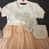 Розпродаж!!! Нові турецькі плаття з сумочкою Одне на вибір
