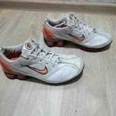 Кожаные кроссовки/Унисекс /Nike /37размер!!!