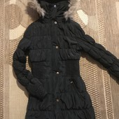 Куртка-пальто єврозима чи демісезон розмір С-М, заміри