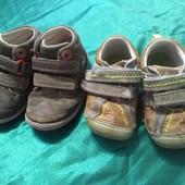 Детские ботиночки 2 пары=4.5/13.5см стелька