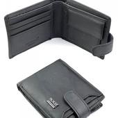 Классное портмоне с съёмным блоком для карт. Натуральная кожа!