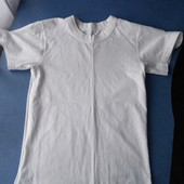 Белая футболка на 5-8лет