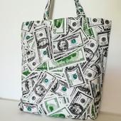 Доллар! Стильная, практичная вместительная сумка!