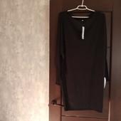Фирменное новое трикотажное вискозное платье р.12-14-16.