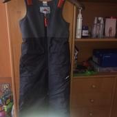 брюки, комбинезон, флис, р. 3-4 года 104 см, Wedze decathlon. состояние хорошее