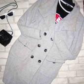 Стильное базовое пальто 50-52рр