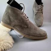 замшевые мужские ботинки Livergy р. 42,45