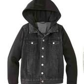 Классная джинсовая куртка от Pepperts р.128