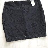 Кружевная юбка primark р.42 европ.