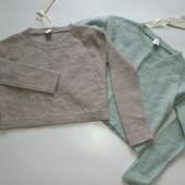Короткий мохеровый свитер топ оверсайз от Pinko (Пинко)