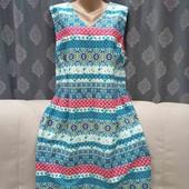 Красивое новое платье в яркий принт,  р.2XL