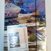 Набор из двух больших цветных папок формат А 3