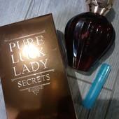 Ниша! восточные! 100% оригинал linn young Pure Luck Lady secrets парфюмированая вода в лоте 5 мл