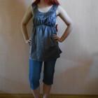 Бриджи, шорты для беременных, летние, 40 размер, Англия