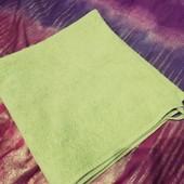 Махровое полотенце 100 коттон 68см на 134см
