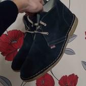 Стильные ботинки кожа Испания