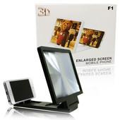 Увеличитель экрана 3D подставка для телефона Enlarged Screen Mobile Phone цвет белый только